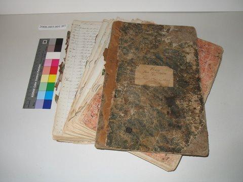 Minute Book (before) / Livre de procès-verbaux (avant)