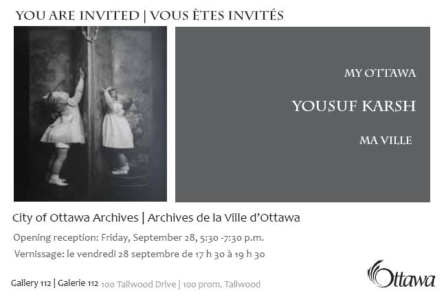 Vernissage Yousuf Karsh