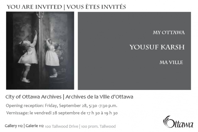 Vernissage Yousuf Karsh