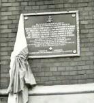 Plaque in Poland/ Plaque commémorative en Pologne