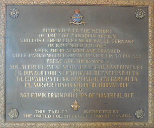 Plaque in Canada/ Plaque commémorative au Canada