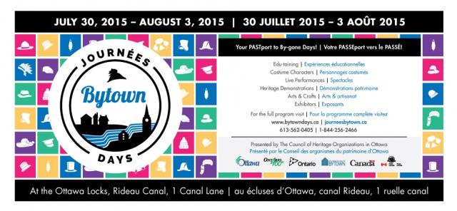 Bytown Days 2015 | Journées Bytown 2015